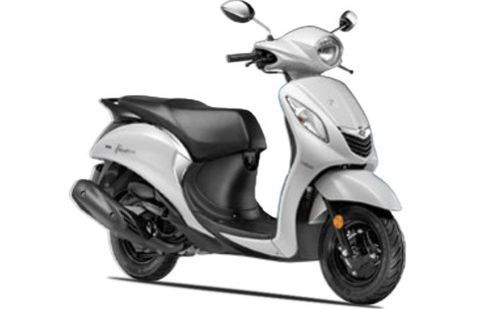 Yamaha Fascino Haute White