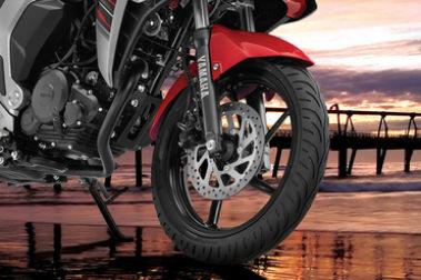 Yamaha Fazer-FI Front Tyre View