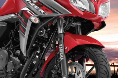 Yamaha Fazer-FI Front Mudguard & Suspension