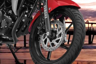 Yamaha Fazer-FI Front Brake View
