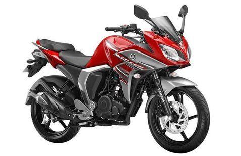 Yamaha Fazer-FI Burning Red