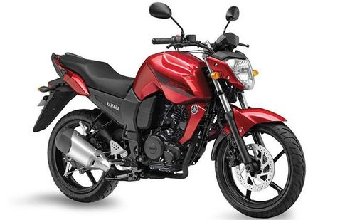 Yamaha FZ Raider Red