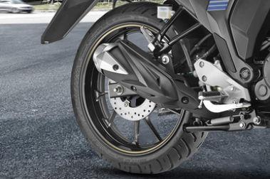 Yamaha FZ S FI (V 2.0) Rear Tyre View