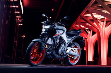 2020 Yamaha MT 03 Front Left View