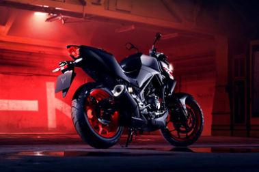 2020 Yamaha MT 03 Rear Right View