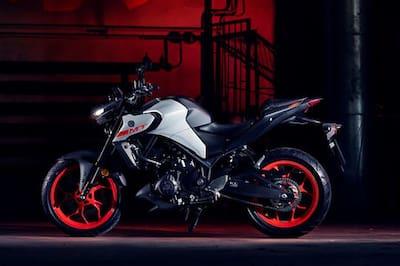 2020 Yamaha MT 03 Left Side View