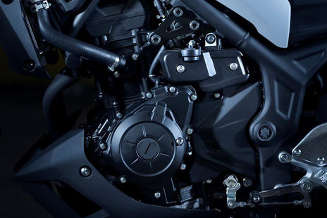 2020 Yamaha MT 03 Engine