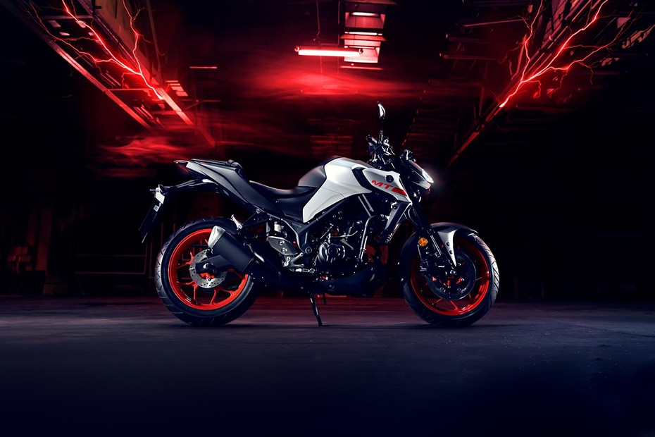 2020 Yamaha MT 03 Right Side View
