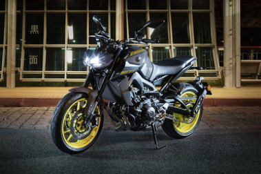 Yamaha MT 09 Front Left View