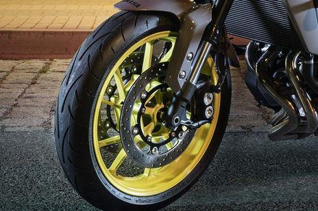 Yamaha MT 09 Front Brake View