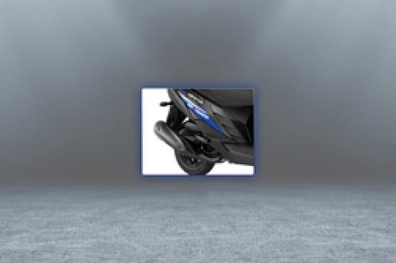 Yamaha Ray ZR Exhaust View