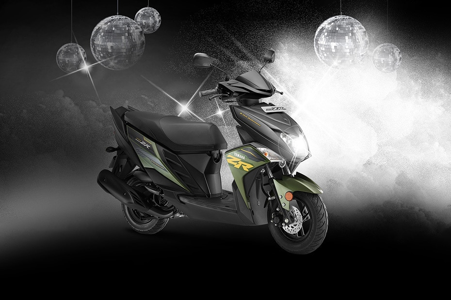 Yamaha Ray ZR Front Right View