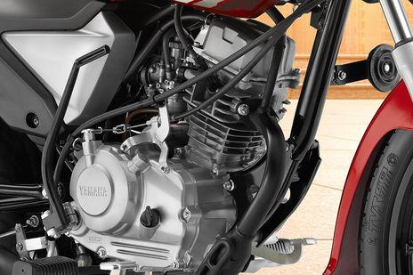 Yamaha Saluto RX Engine