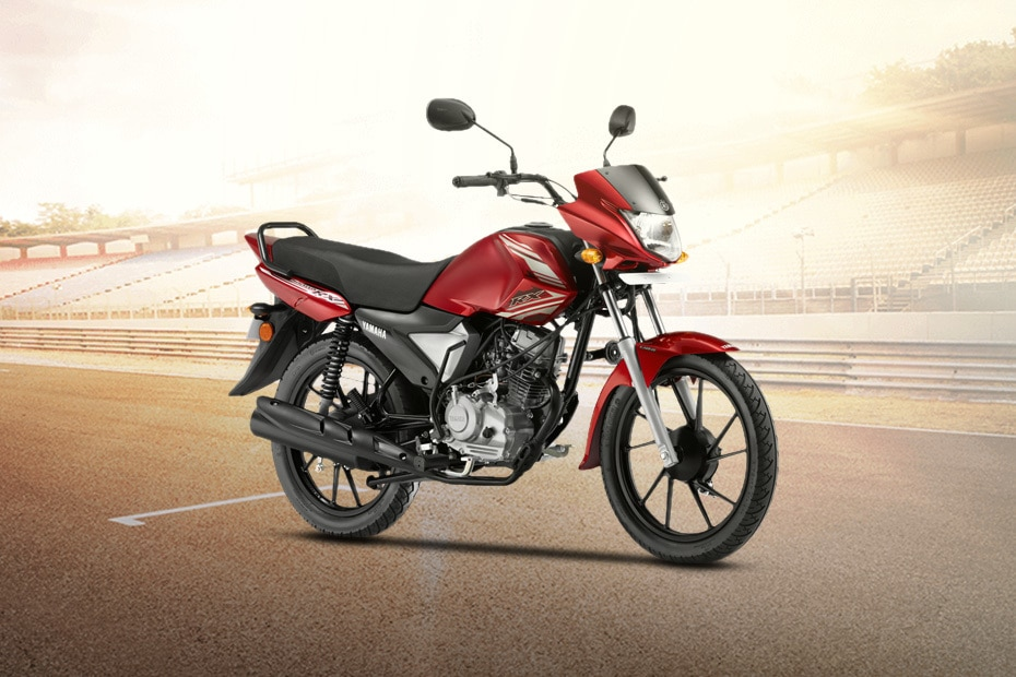 Yamaha Saluto RX Front Right View