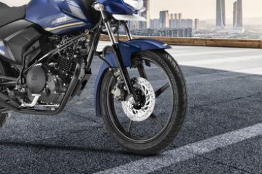 Yamaha Saluto Rear Tyre View