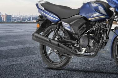 Yamaha Saluto Front Tyre View