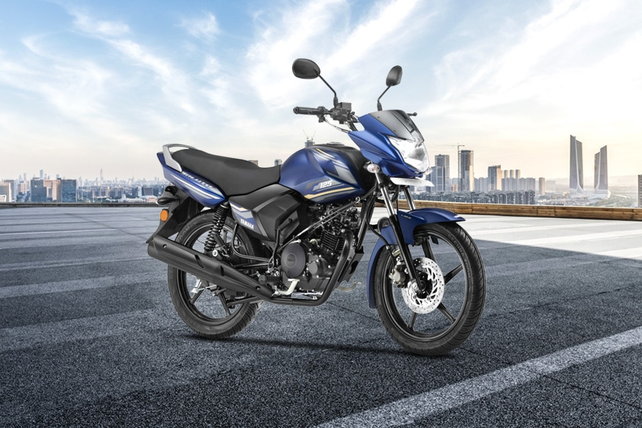 Yamaha Saluto Front Right View