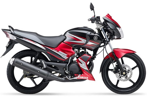 yamaha ss 125 loan -black and red model