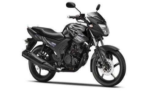 Yamaha SZ-RR Beast Black