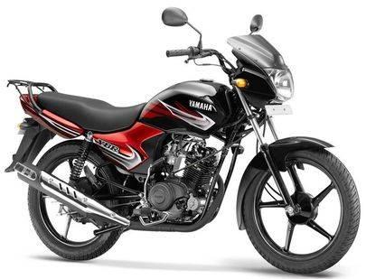 yamaha ybr 110 loan black and red model