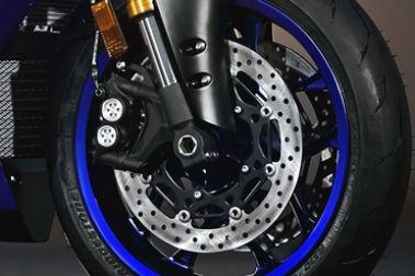 Yamaha YZF R1 Front Brake View