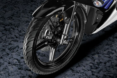 Yamaha YZF R15S Front Tyre View