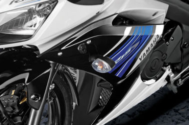 Yamaha YZF R15S Front Indicator View