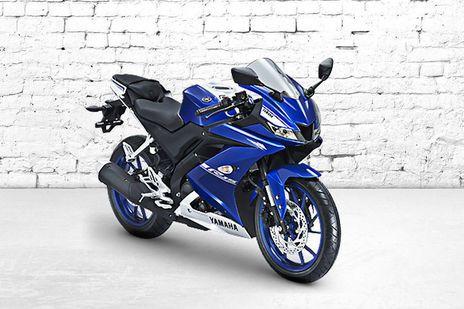 Yamaha YZF R15 Race Blue