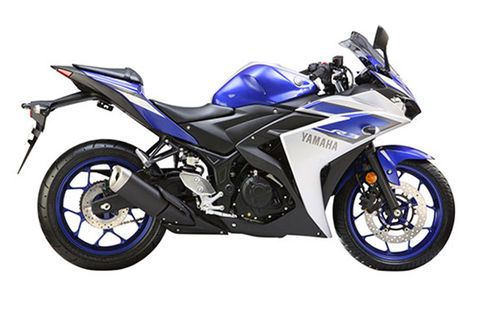 Yamaha YZF R3 Racing Blue