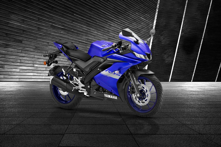 Yamaha YZF R15 V3 BS6 Front Right View