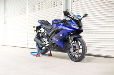 Yamaha YZF R15 V3 Right Side View