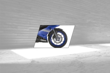 Yamaha YZF R15 V3 Front Tyre View