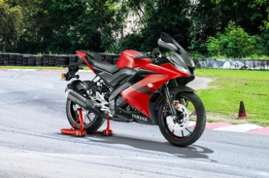 Yamaha YZF R15 V3 Front Right View