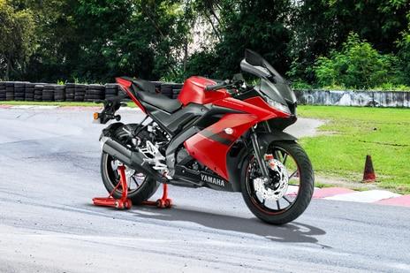 Yamaha YZF R15 V3 Metallic Red