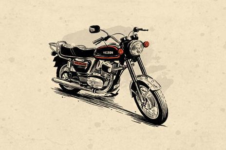 Yezdi Motorcycles 300 Tyres