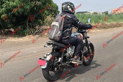 Yezdi Motorcycles Roadking Scrambler Right Side View