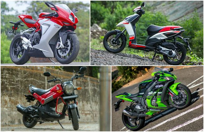 Top 5 Bikes Reviewed in 2016