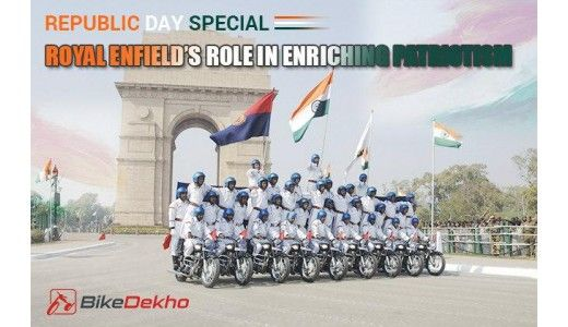 Republic Day Special: Royal Enfield's Role in Enriching Patriotism