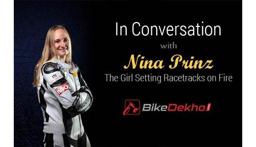 In Conversation with Nina Prinz - The Girl Setting Racetracks on Fire