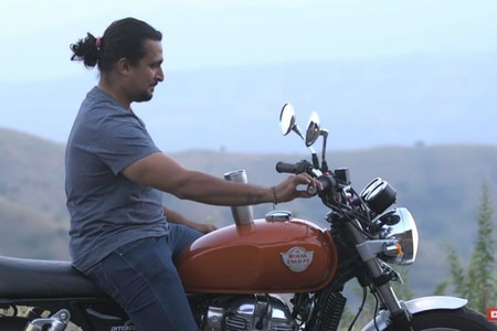 Proof That Royal Enfield Interceptor 650 Is Vibration Free