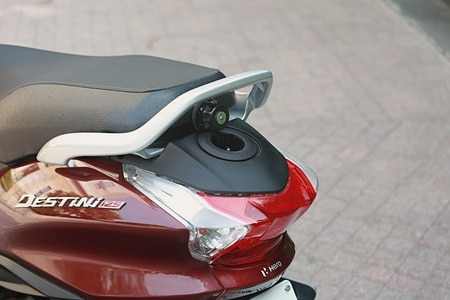 Five Scooters With External Fuel Filler Caps