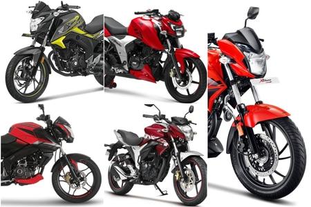5 Most Powerful Bikes Under Rs 1 lakh: Suzuki Gixxer, TVS Apache RTR 160 4V & More