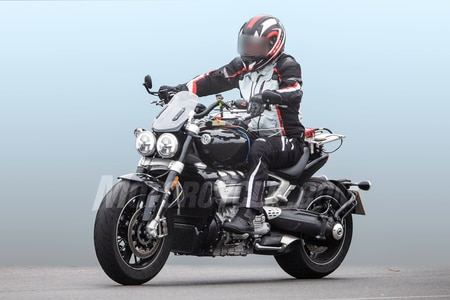 All-new Triumph Rocket III Spied Testing