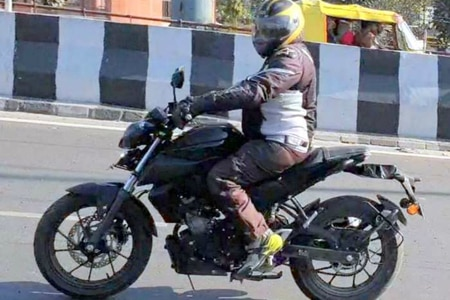 2019 Yamaha MT-15 Spotted Testing In India