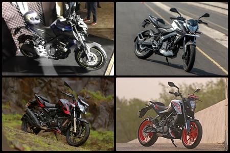 Yamaha MT-15 Vs KTM 125 Duke Vs Bajaj NS200 Vs TVS Apache RTR 200 4V