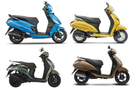 Holi 2019: 110cc Scooters With Snazzy Colour Options