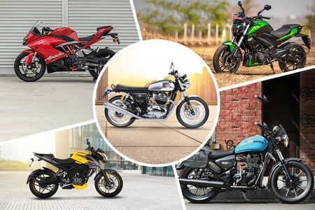 Top 5 Motorcycles With Brightest Colours On Sale