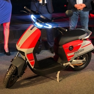Electric Ducati Scooter Unveiled!