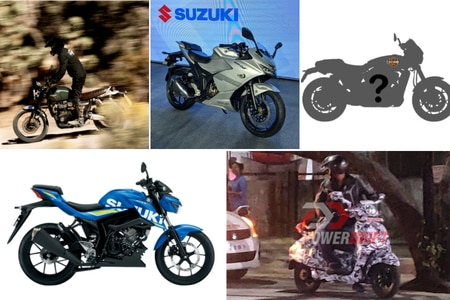 Weekly News Wrap-up: Suzuki Gixxer SF 250, 2019 Gixxer SF launched, New Bajaj Scooter Spotted, Harley-Davidson To Launch Sub-500cc bike and more!