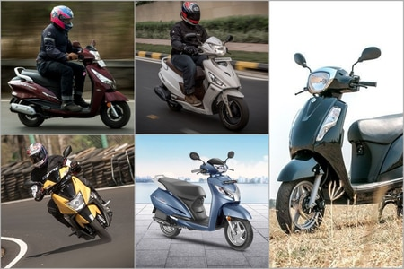 Top 5 Most Affordable 125cc scooters In India